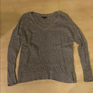 American Eagle Oatmeal Sweater